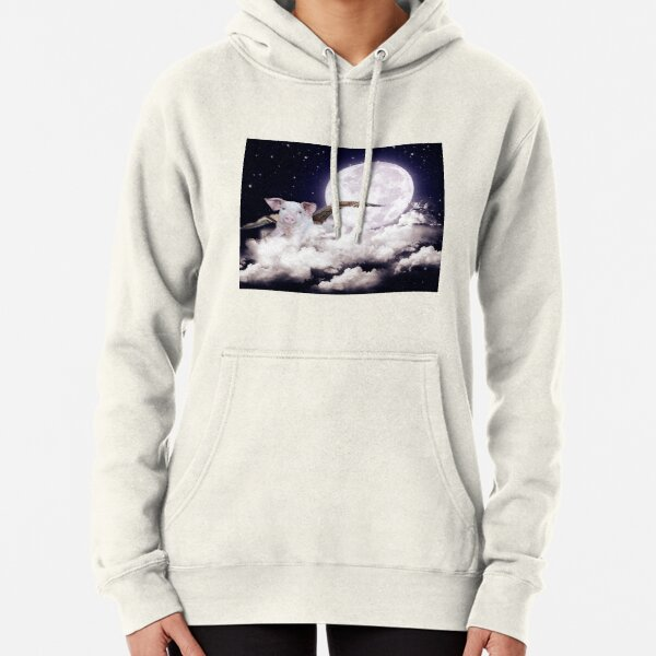 Pigs Can Fly Pullover Hoodie