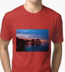 Mangroves at Nudgee Beach Tri-blend T-Shirt
