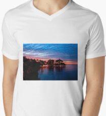 Mangroves at Nudgee Beach Men's V-Neck T-Shirt