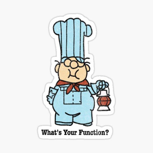 Conjunction Junction - engineer Sticker