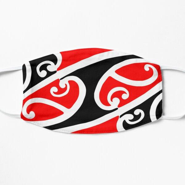 Maori Kowhaiwhai Pattern 2 Flat Mask