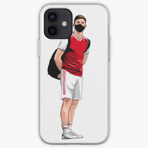 Arsenal Kieran Tierney Mask iPhone Soft Case
