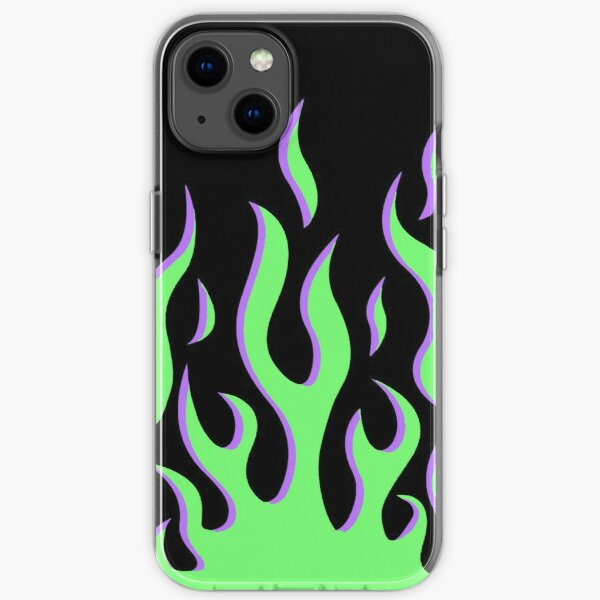 Wildflower iPhone Case Design- Flames, Fire iPhone Soft Case