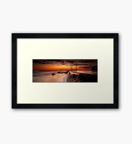 Bronte Sunrise Framed Print
