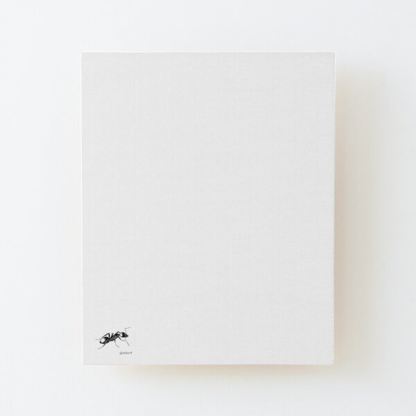 Ant! Wood Mounted Print
