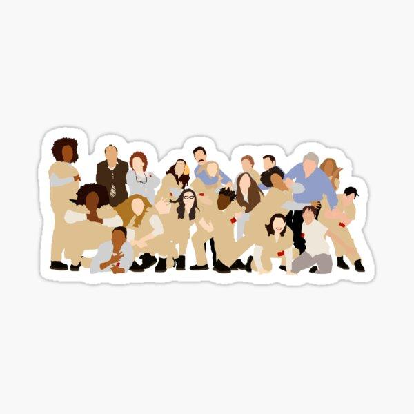 OITNB Season 2 cast Sticker