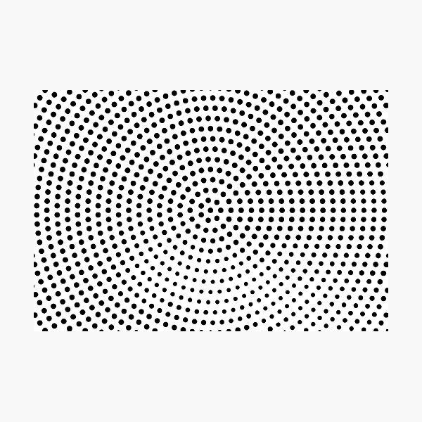 Dots Photographic Print