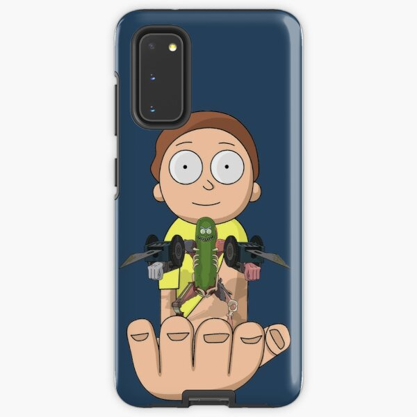 Pickle Rick and Morty Samsung Galaxy Tough Case