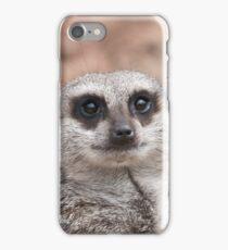Meerkat Face iPhone Case/Skin