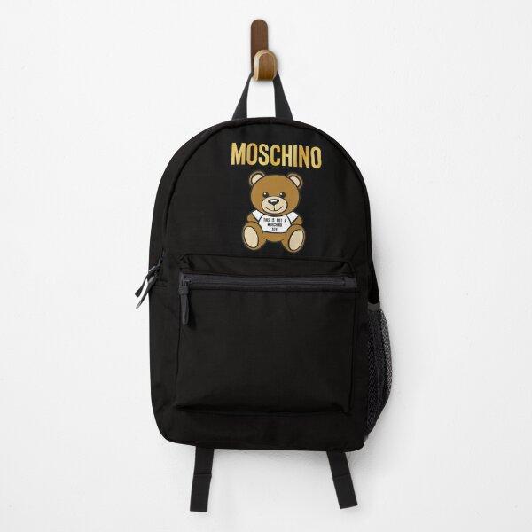 Moschino Bear logo Backpack