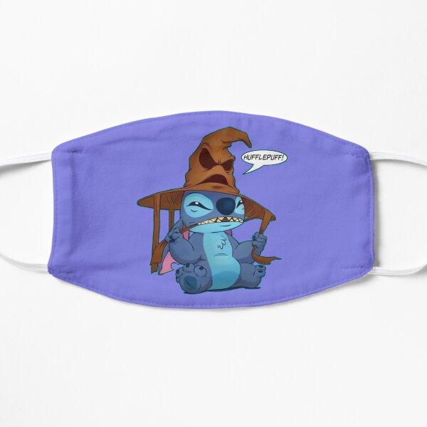 stitch funny art Flat Mask
