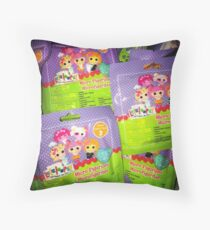 Lalaloopsy Addiction Throw Pillow
