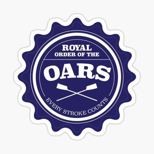 Royal Order of the Oars Sticker