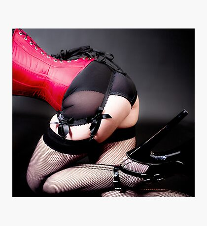 Pleaser Photographic Print
