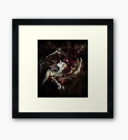All Dolls Get Broken Framed Print