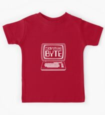 Computers Byte Kids Tee