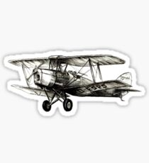 DH 82 Tiger Moth Sticker