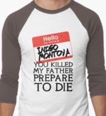 Inigo's Name Tag Men's Baseball ¾ T-Shirt