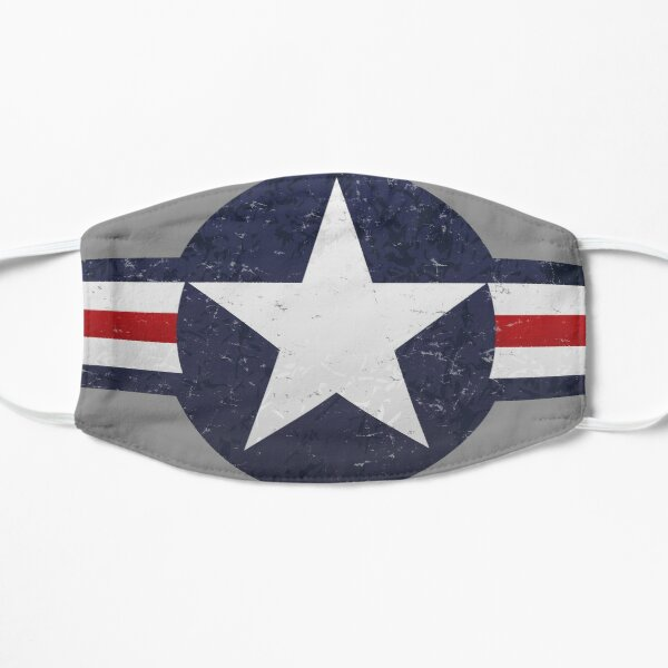 U.S. Military Aviation Star National Roundel Insignia Mask