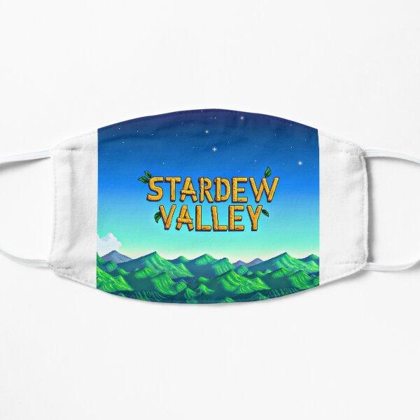 Stardew valley title Flat Mask