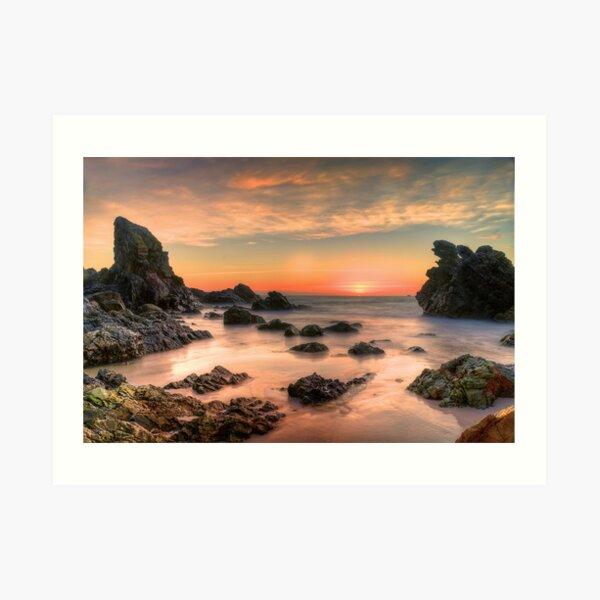 Coastal Sunrise. Art Print