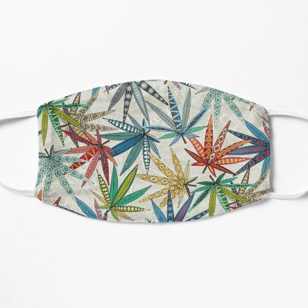 boho weed light Flat Mask