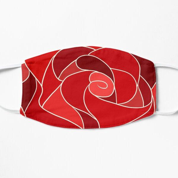 Tiled Rose Flat Mask