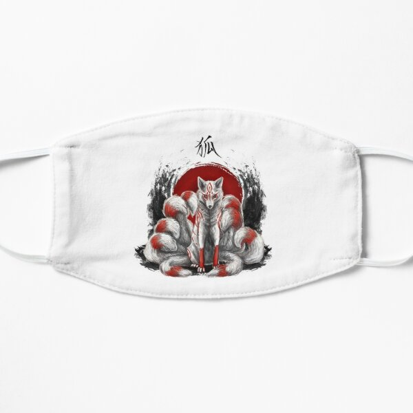 Kitsune Fox à neuf queues Masque taille M/L