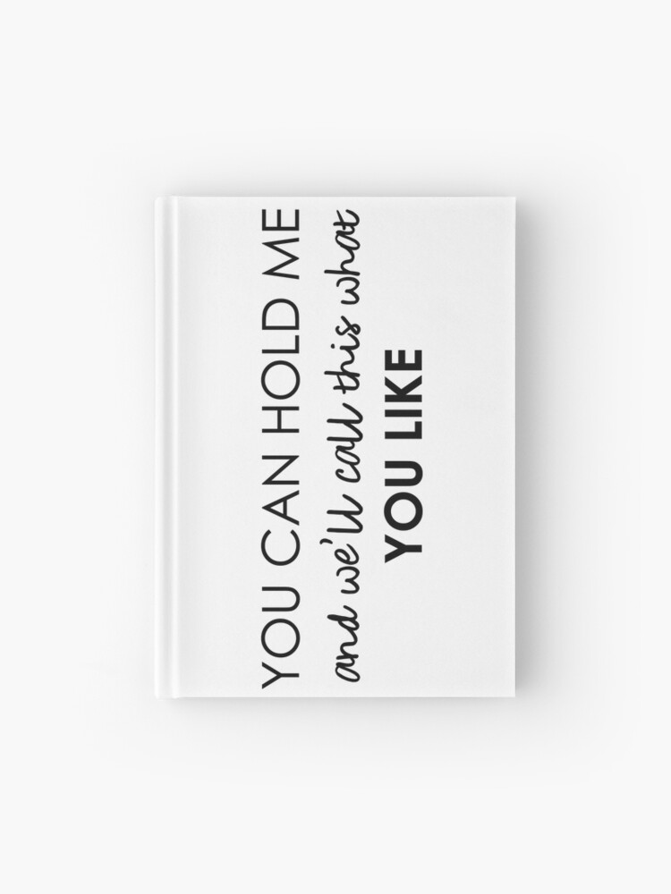Temporary Fix - One Direction lyrics | Hardcover Journal