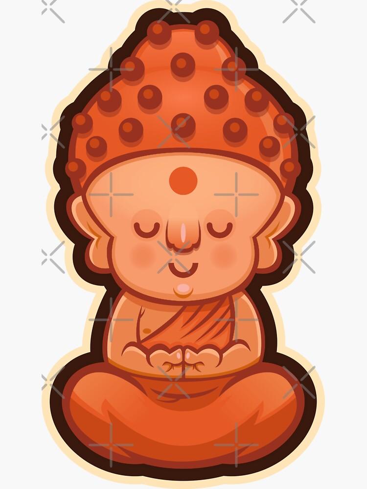 Little Indian Buddha by wardellb