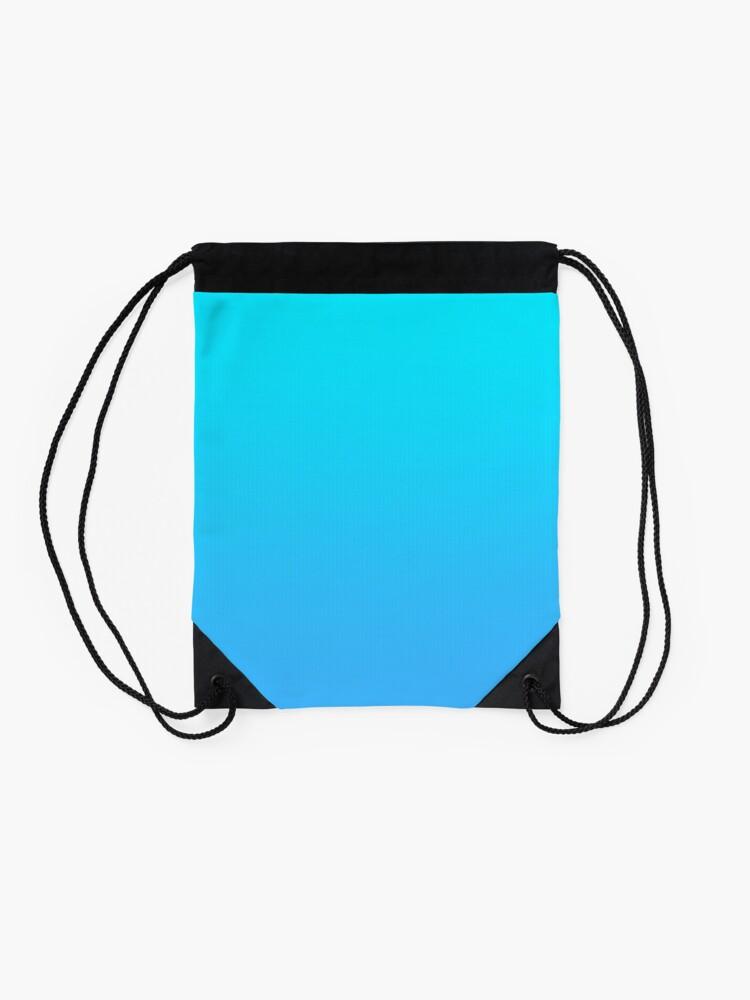 Alternate view of Light blue Drawstring Bag