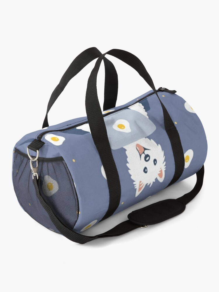Alternate view of Westie Dog Working From Home Duffle Bag