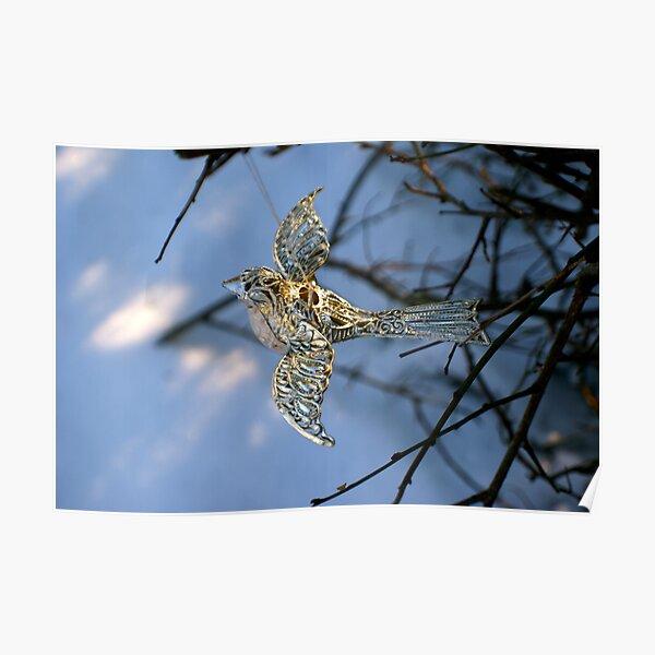 Winter bird Poster