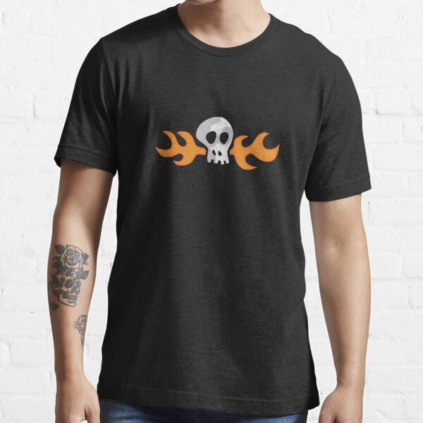 Hoagie Flaming Skull Essential T-Shirt