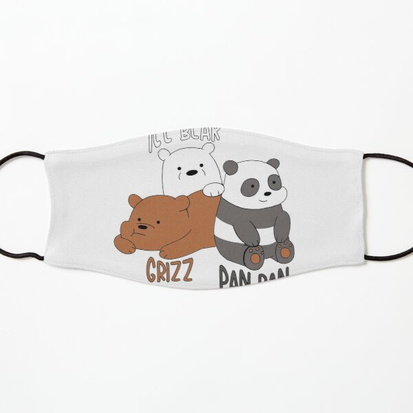 Chibi Bears | osos Chibi | ositos Mascarilla para niños