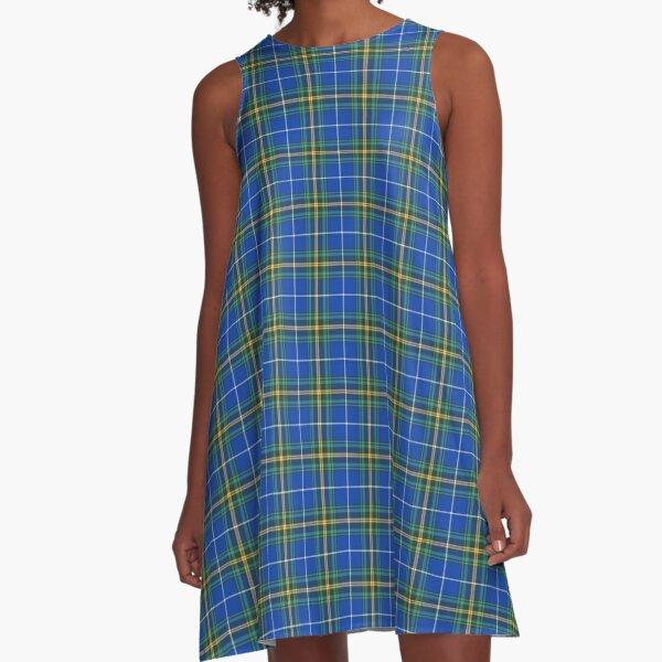 Province of Nova Scotia Tartan A-Line Dress