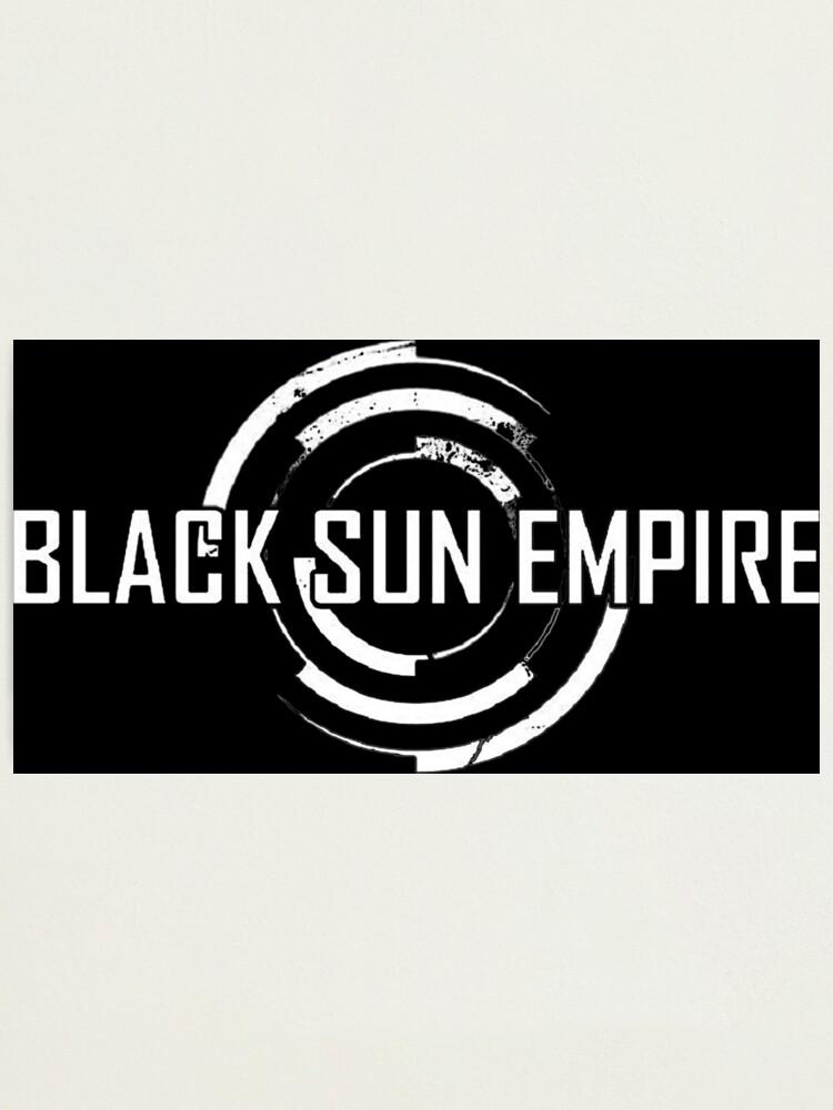 Alternate view of Black Sun Empire LOGO Photographic Print
