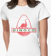 Dinoco Women's Fitted T-Shirt