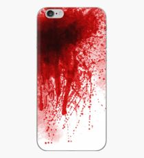 Blood spatter 2 iPhone Case