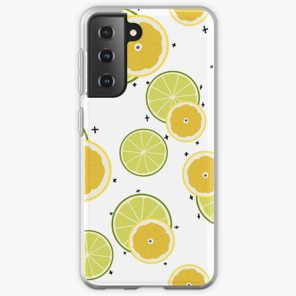 Lemon and Lime Samsung Galaxy Soft Case
