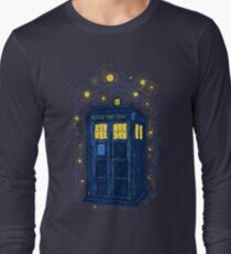 Space Time Impressionism Long Sleeve T-Shirt