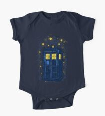 Space Time Impressionism One Piece - Short Sleeve