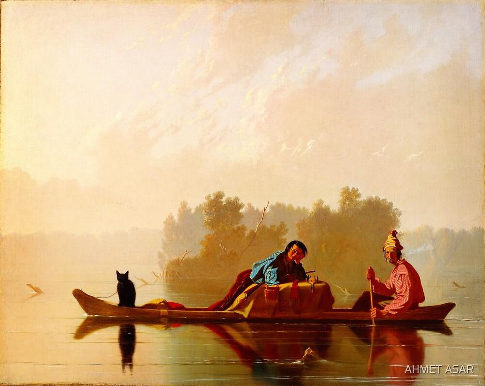 George Caleb Bingham Fur Traders Descending the Missouri WGA2205 by MotionAge Media