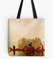 George Caleb Bingham Fur Traders Descending the Missouri WGA2205 Tote Bag