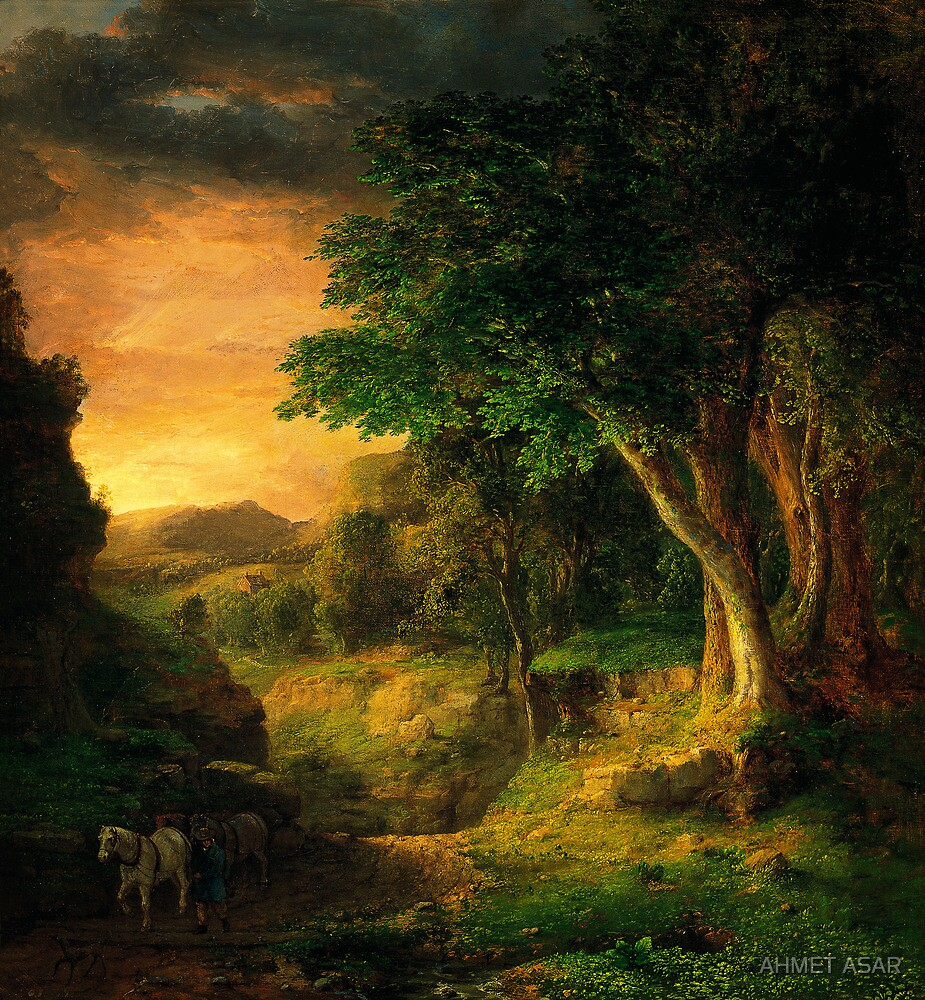 George Inness In the Berkshires by MotionAge Media