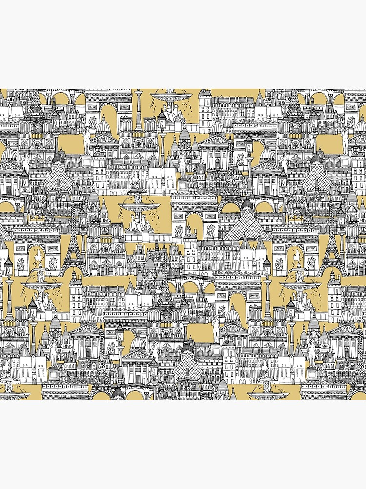 Paris toile gold by scrummy