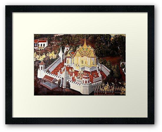 Grand Palace Bangkok Thailand 8 by Terry Jorgensen