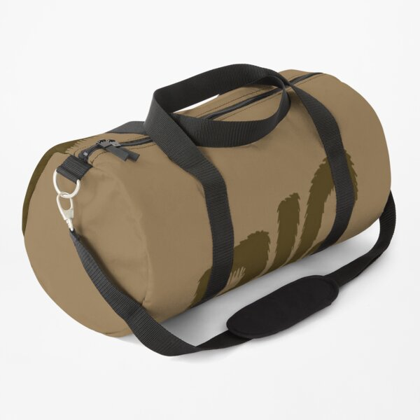 Big Bear hand lettered design Duffle Bag