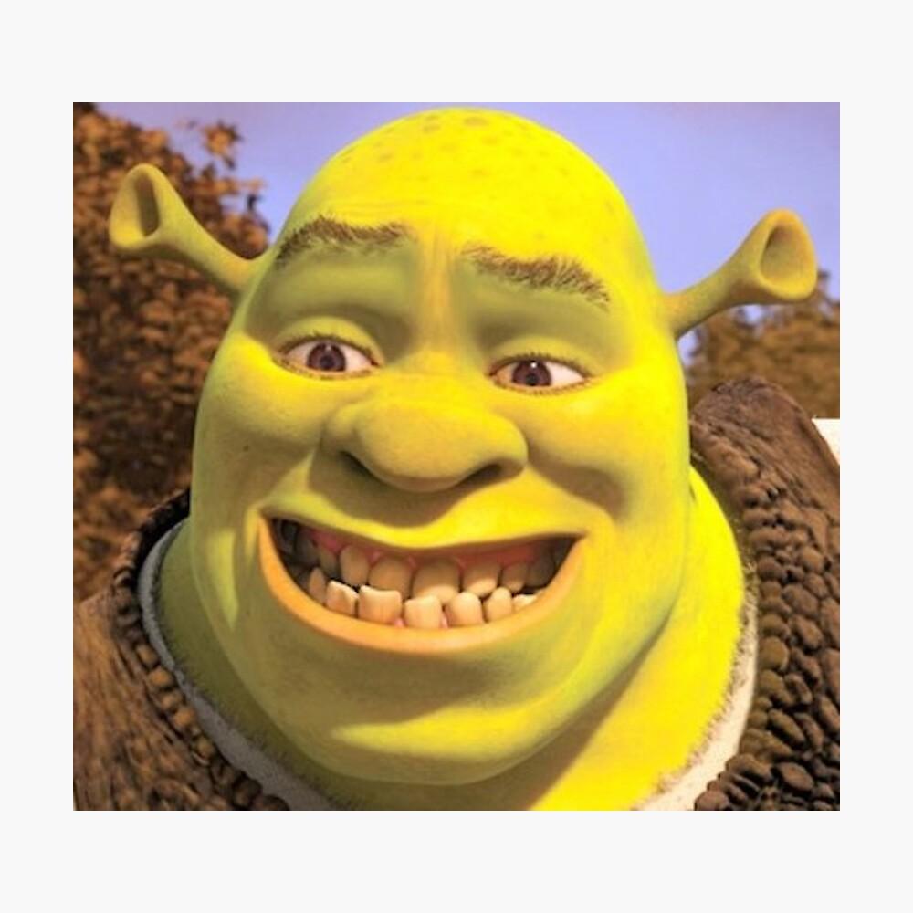 Shrek Smiling