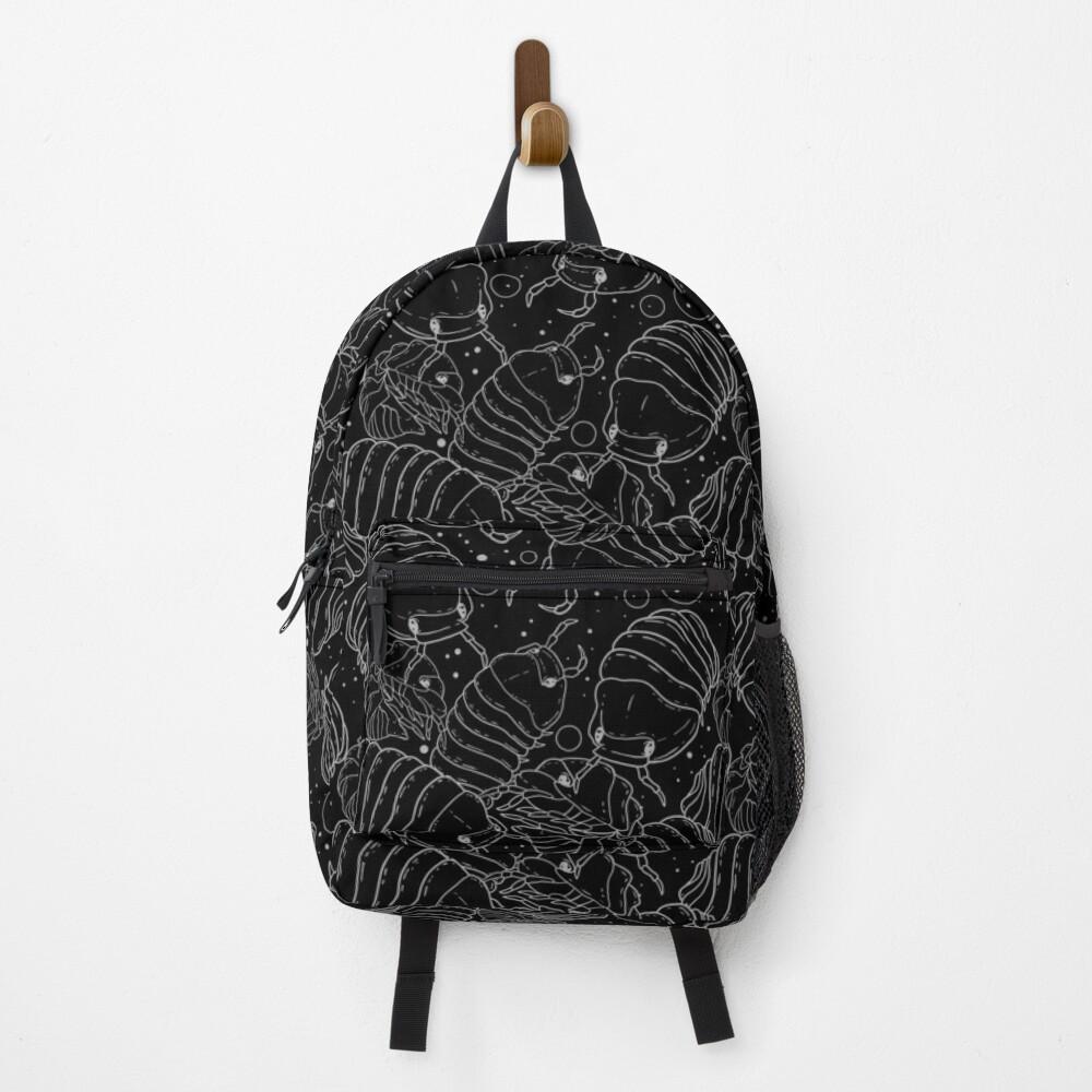 Monochrome Isopods 2 Backpack